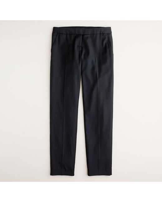 J.Crew | Black Tall Paley Pant In Super 120s Wool | Lyst