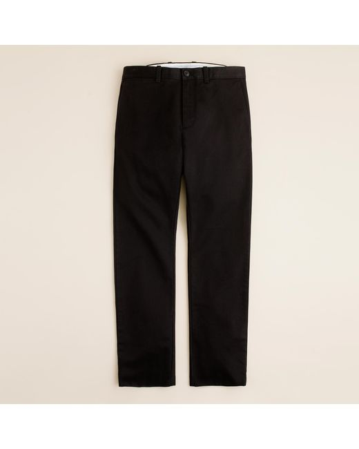 J.Crew | Black Essential Chino Pant In 484 Fit for Men | Lyst