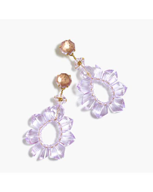 J.Crew | Multicolor Wreath Earrings | Lyst