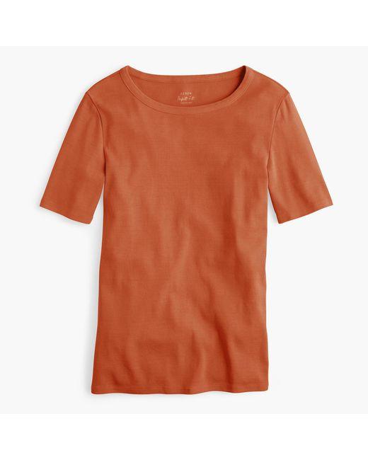 J.Crew | Orange New Perfect-fit T-shirt | Lyst