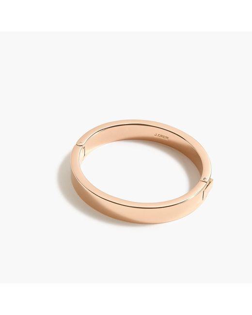 J.Crew - Metallic Hinge Bracelet - Lyst