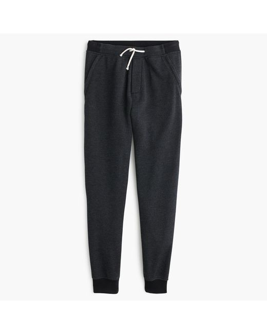 J.Crew | Black Classic Zip-pocket Sweatpant for Men | Lyst