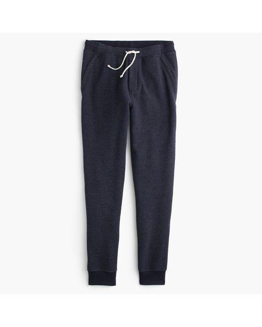 J.Crew | Blue Slim Classic Zip-pocket Sweatpant for Men | Lyst