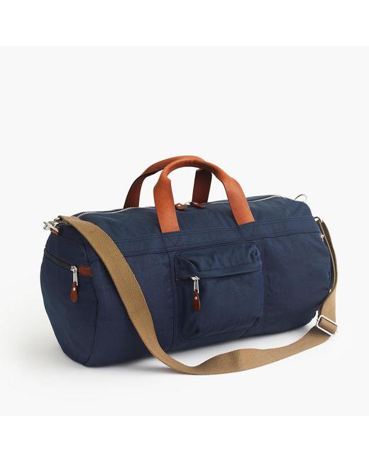 J.Crew | Blue Harwick Duffel Bag for Men | Lyst