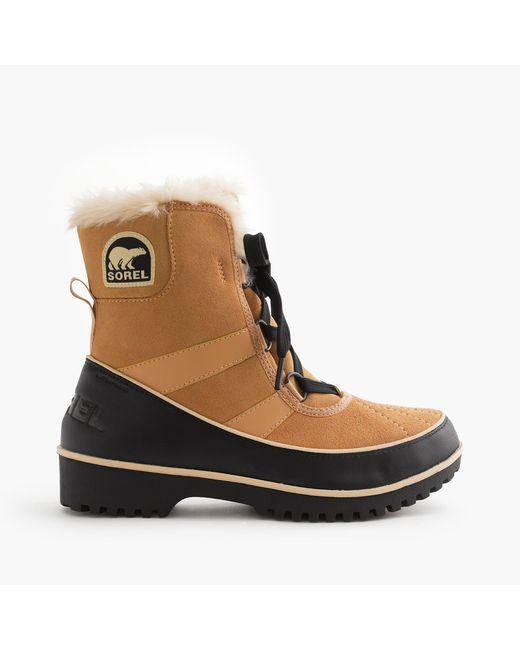 Sorel | Brown Tivoli Ii Tan Waterproof Boot | Lyst