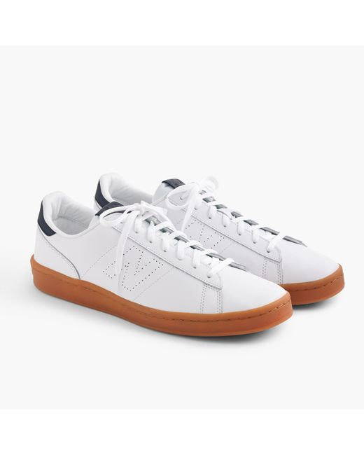 J.crew New Balance 791 Leather Trainers in White for Men ...