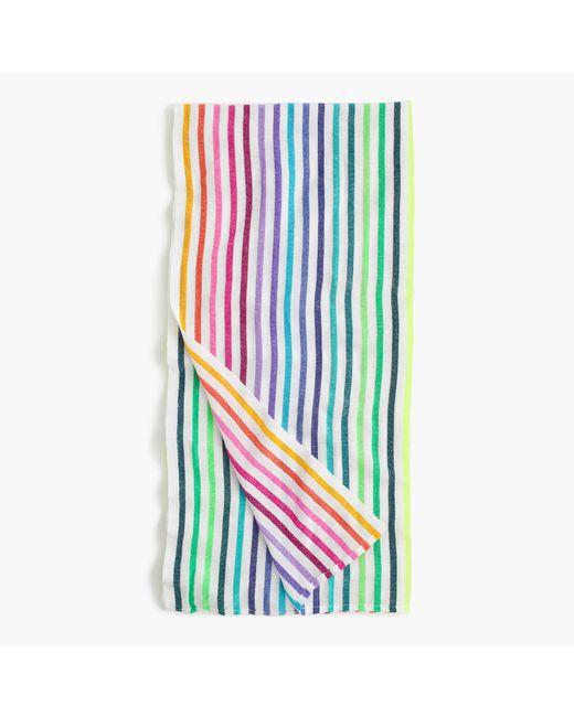 Mexican Beach Blanket: J.crew Las Bayadas Mexican Beach Blanket In Multicolor