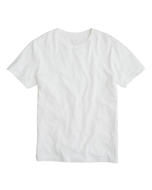 J.Crew   White Broken-in T-shirt for Men   Lyst