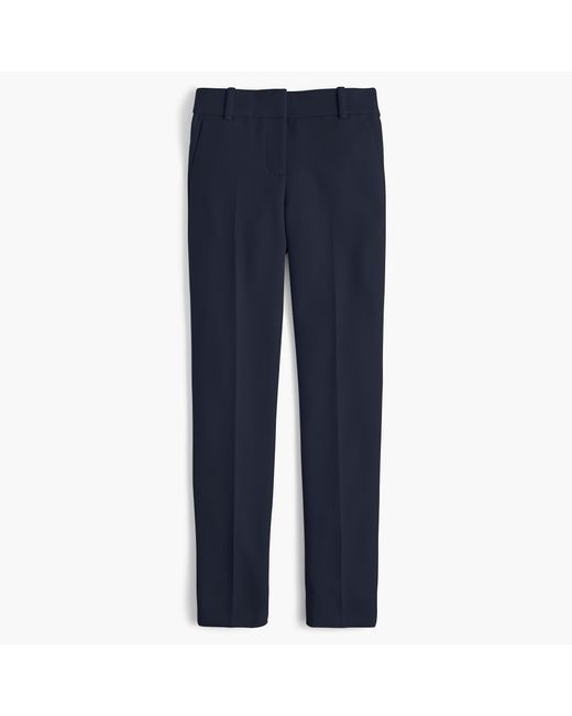 J.Crew - Blue Petite Cameron Slim Crop Pant In Four-season Stretch - Lyst