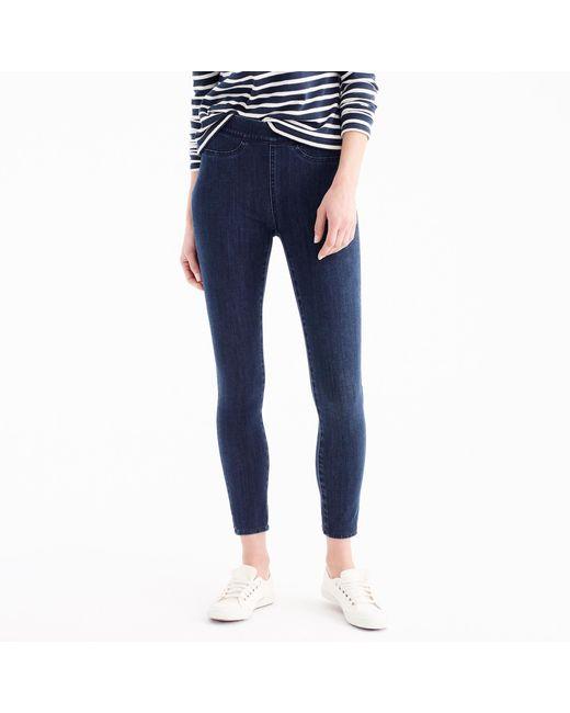 J.Crew - Blue Petitepull-on Toothpick Jean In Black for Men - Lyst