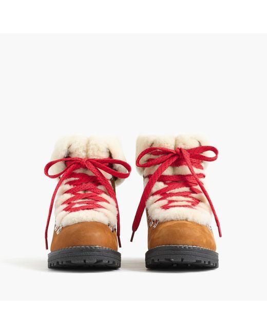 J.Crew Multicolor Nordic Boots