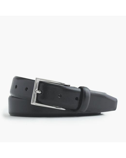 J.Crew   Black Leather Dress Belt for Men   Lyst
