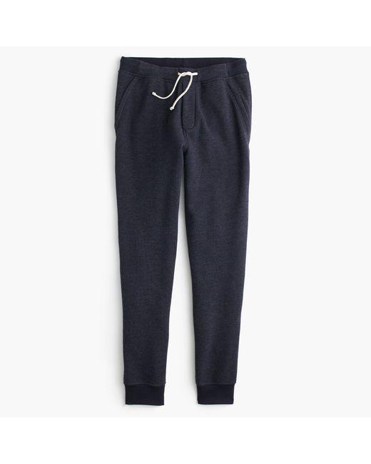 J.Crew - Blue Classic Zip-pocket Sweatpant for Men - Lyst
