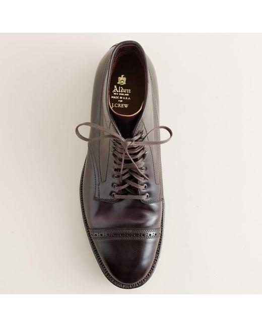 e6a909136da Men's Purple Cap-toe Cordovan Boots