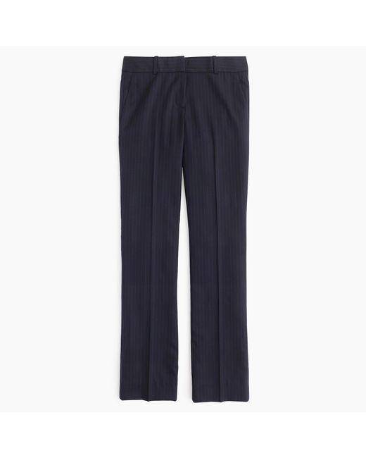 J.Crew | Blue Tall Campbell Trouser In Pinstripe Super 120s Wool | Lyst