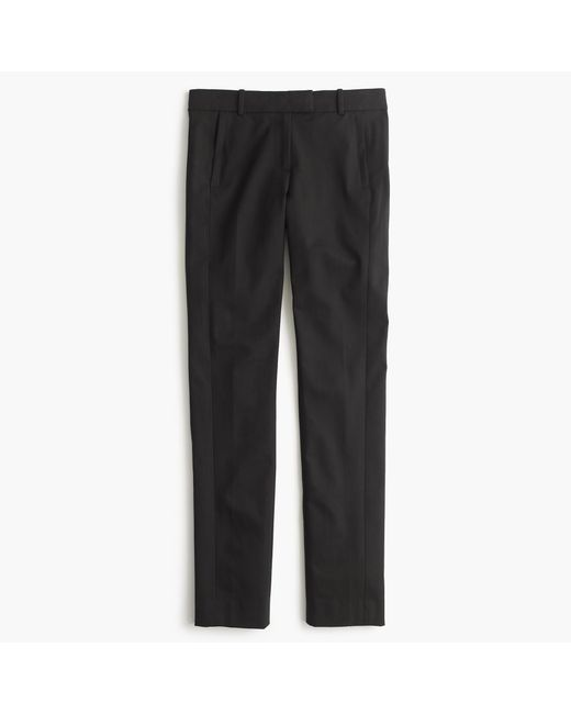 J.Crew | Black Maddie Pant In Two-way Stretch Cotton | Lyst