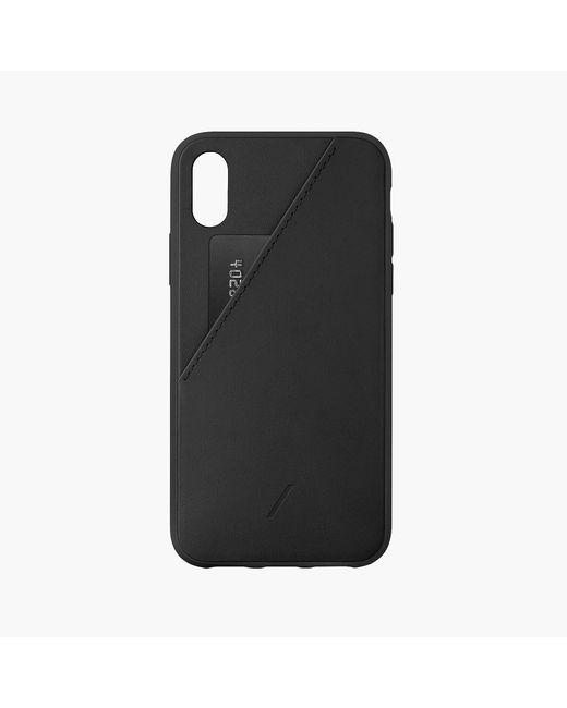 timeless design 8accc 5216f Men's Black Native Union Clic Card Case For Iphone Xs, X