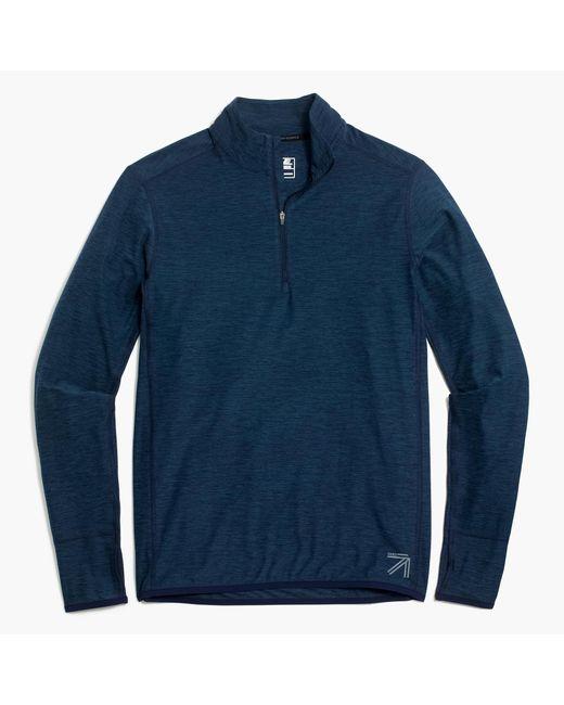 J.Crew | Blue New Balance Half-zip Pullover for Men | Lyst