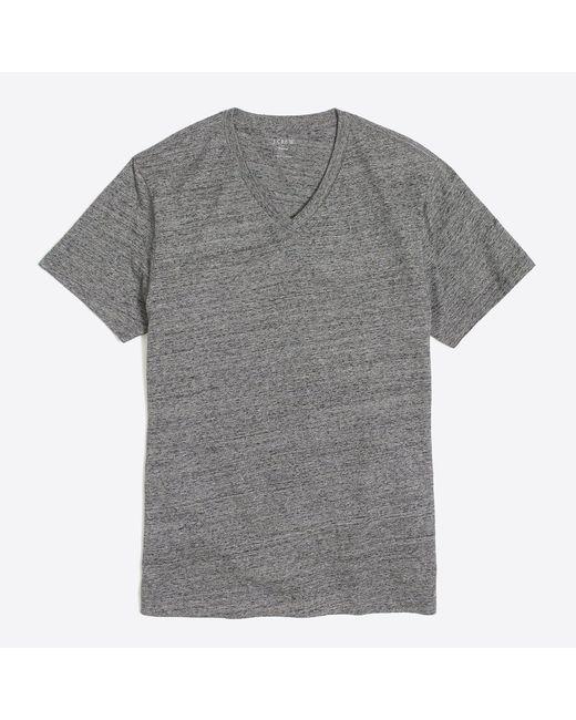 J.Crew - Gray J.crew Mercantile Broken-in V-neck T-shirt for Men - Lyst
