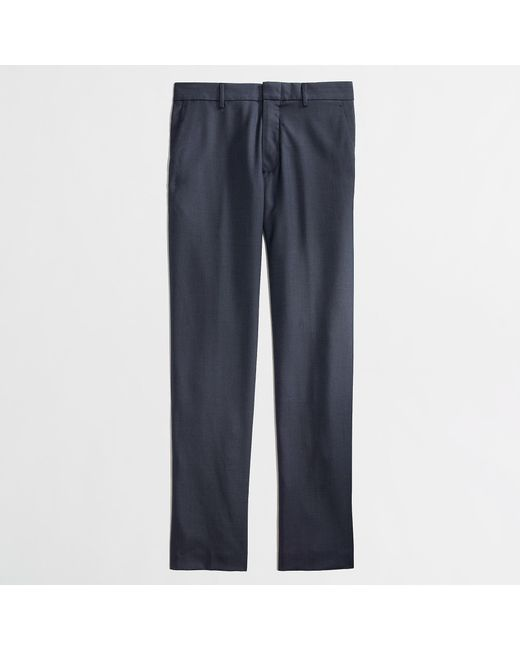 J.Crew - Blue Slim Thompson Suit Pant In Worsted Wool for Men - Lyst