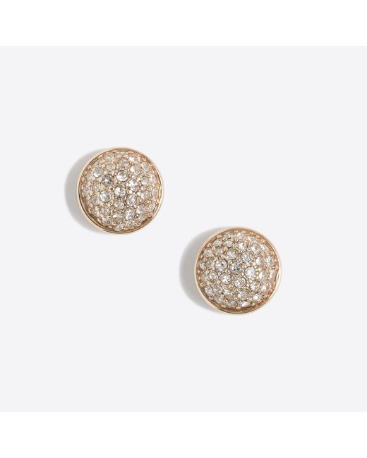 J.Crew - Metallic Fireball Stud Earrings - Lyst