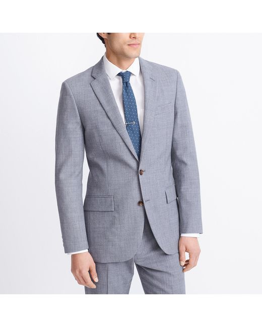 f8e8d5bfa04 Lyst - J.Crew Slim-fit Thompson Suit Jacket In Voyager Wool in Gray ...