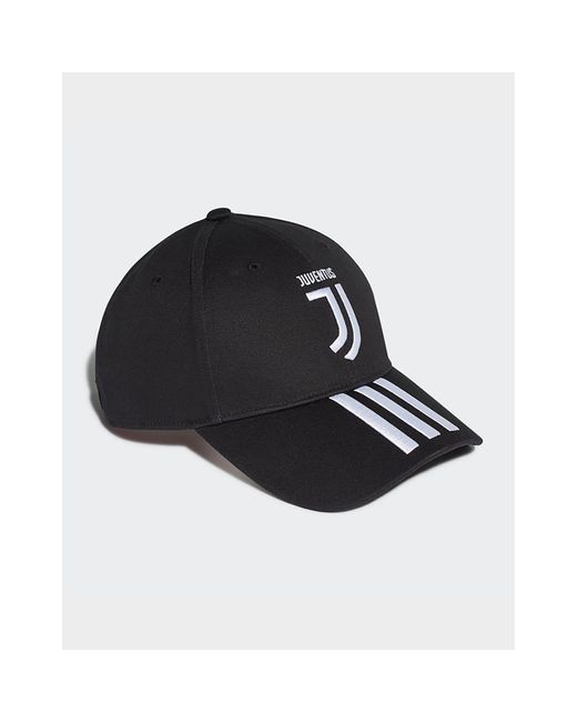 b6970ce2ff Women's Black Juventus 3-stripes Cap