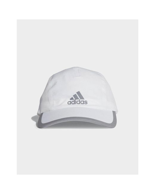 97018e97daf Adidas - White Climalite Running Cap for Men - Lyst ...