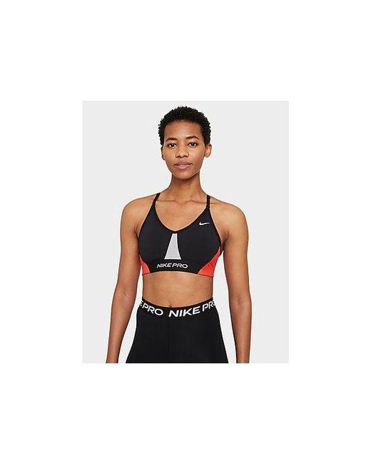 Nike Pro Dri-FIT Indy gepolsterter Sport-BH mit leichtem Halt und Color Blocking für Damen in Multicolor für Herren