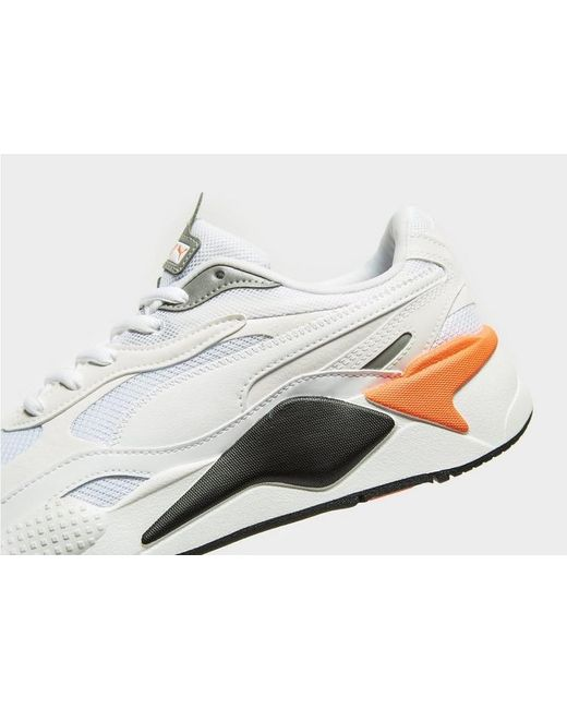 PUMA Leather Rs-x Radiance in White/Red (White) for Men ...