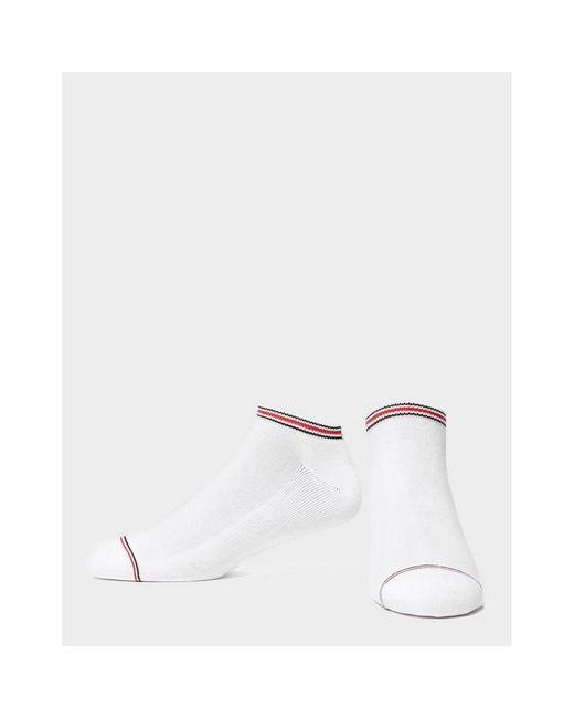 Dots Tommy Hilfiger 4-Pack Gift-Tin Stripes Red//Grey//Navy /& Plain Men/'s Socks