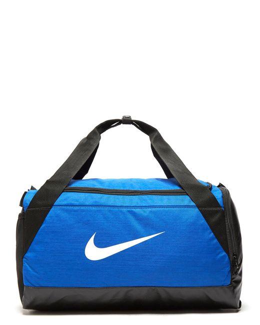 Nike Blue Brasilia Small Duffle Bag For Men Lyst