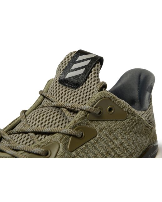 0872b86fe1a045 Adidas Alpha Bounce in Green for Men