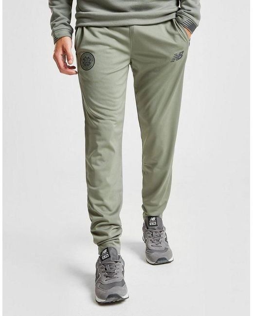 new balance green track pants