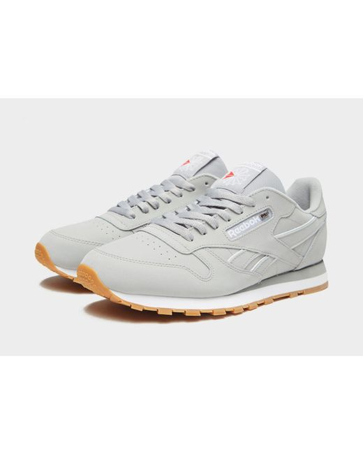 Lyst - Reebok Classic Leather in Gray for Men - Save 43% 1ee96a7bd