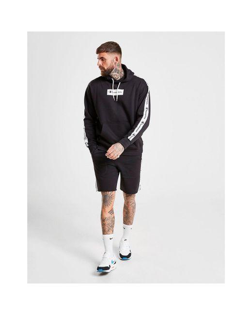 Champion Black Tape Shorts for men