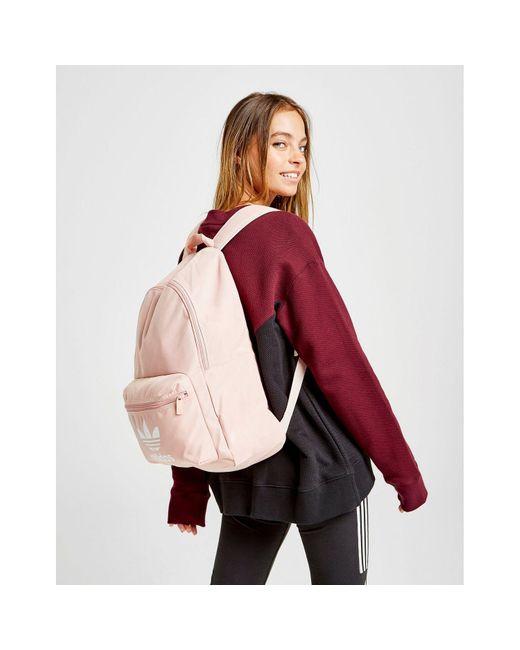Adidas Originals Pink Adicolor Classic Backpack