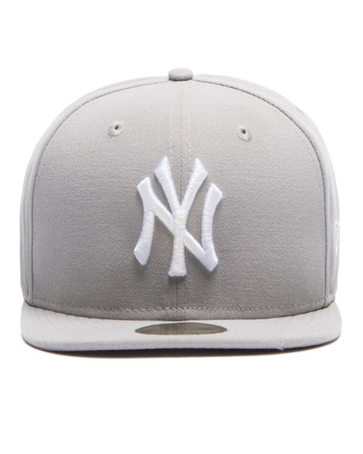 KTZ | Gray Mlb New York Yankees 59fifty Fitted Cap for Men | Lyst