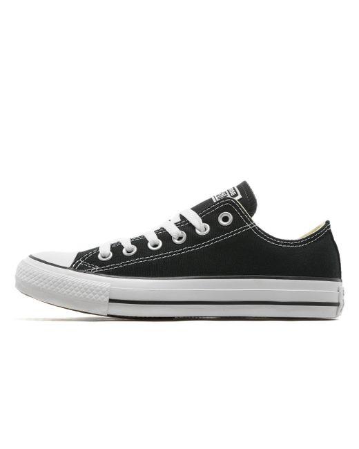 Converse   Black Chuck Taylor Low Sneaker for Men   Lyst