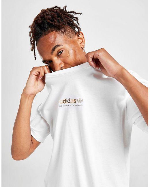 T-Shirt Manches Courtes Coton adidas Originals pour homme en ...