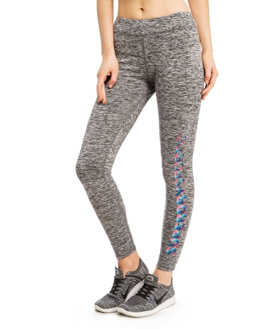 Superdry | Gray Core Gym Leggings | Lyst