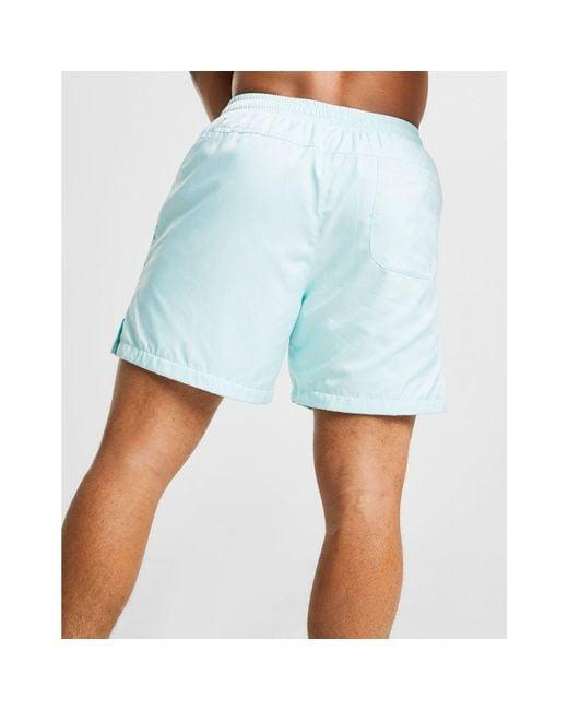 6db28c75aa ... Nike - Blue Flow Woven Swim Shorts for Men - Lyst ...