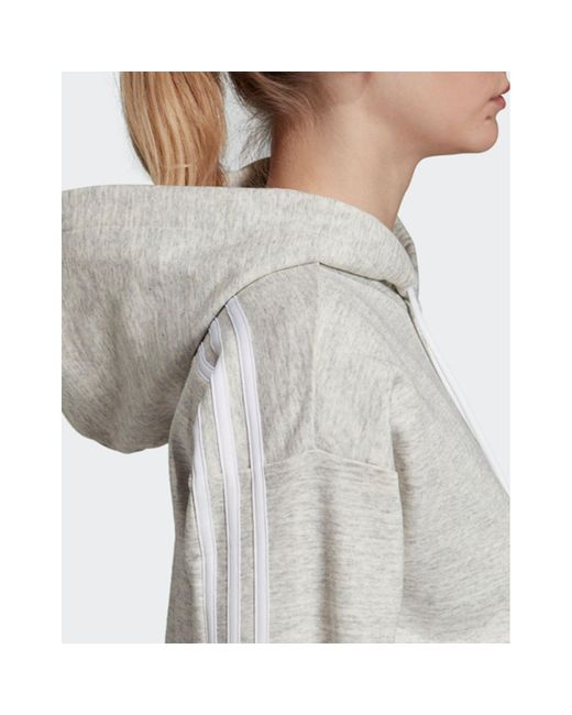 adidas Must Haves Mélange Sweatshirt Women mgh solid grey off white white