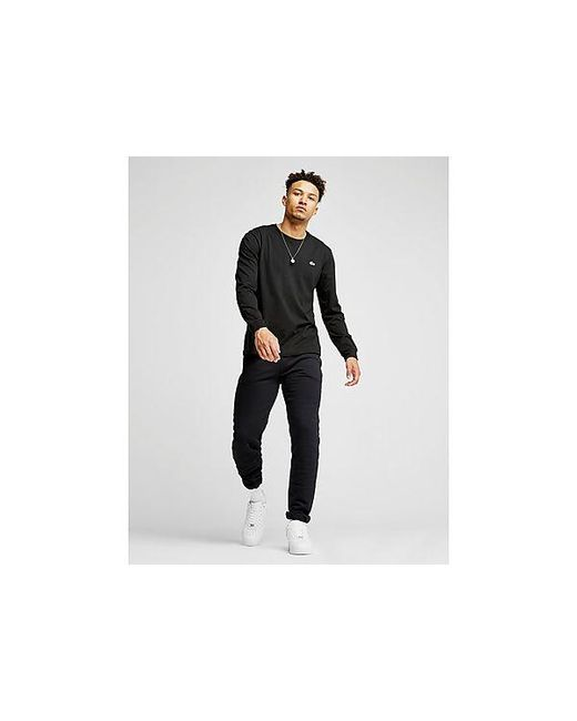 T-shirt Croc Homme Lacoste pour homme en coloris Black