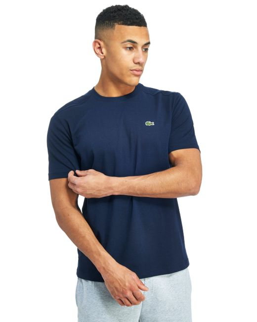 Lacoste | Blue Croc T-shirt for Men | Lyst