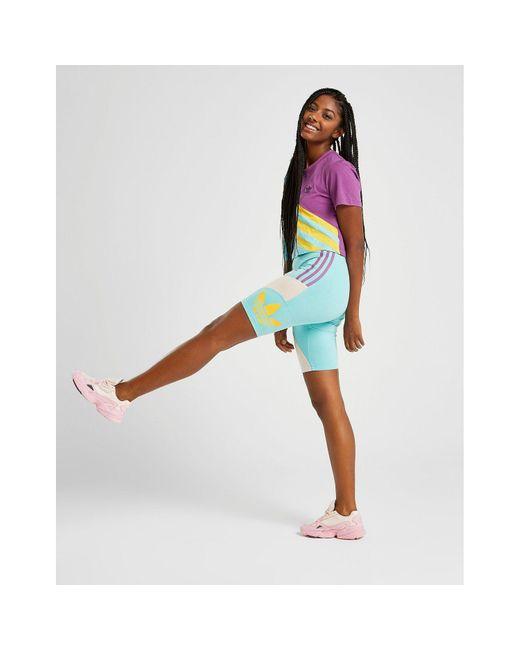 Adidas Originals Blue 90s Cycle Shorts