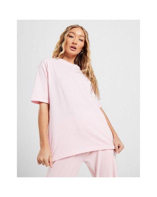 Juicy Couture Pink Boyfriend Logo T-shirt