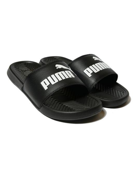 4a00e0c85857 Lyst - Puma Popcat Slide Sandal in Black for Men - Save 10%