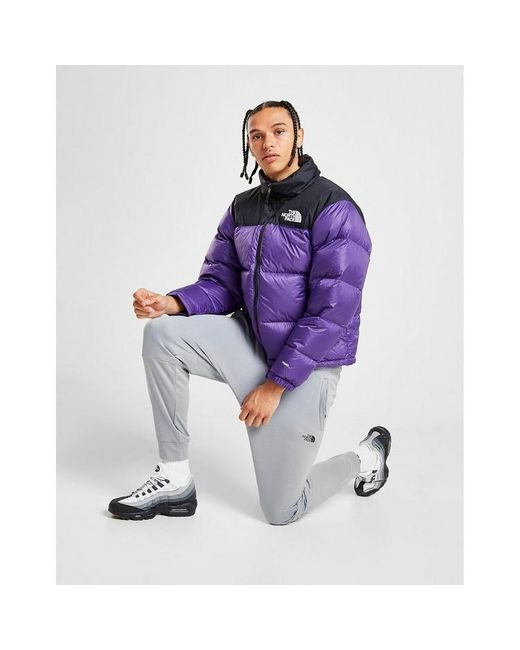 The North Face Purple Nuptse 1996 Down Jacket for men