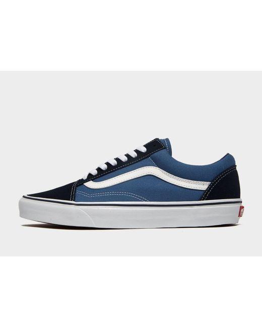 d89c346befb635 Vans - Blue Old Skool for Men - Lyst ...